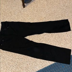 NWOT rag and bone straight leg black jeans